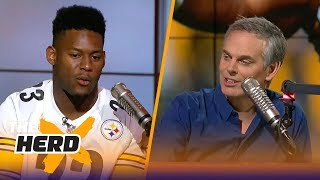 JuJu Smith-Schuster joins Colin to talk Darnold, LeBron, Tomlin and more | THE HERD