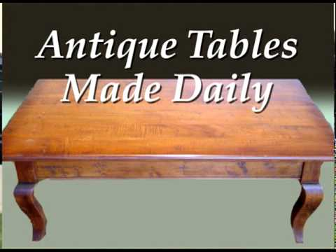 Antique Tables Made Daily (Virginia Living Commercial)