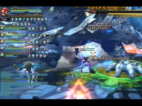 DNVLOG - Ice Dragon Nest HardCore 6 Man - People with no fear !!! Moonlord/Lunar Knight PoV