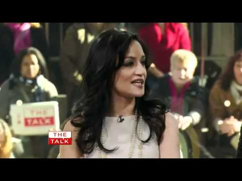 Archie Panjabi  The Talk.mp4