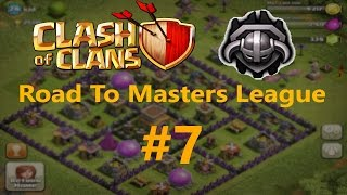 Clash Of Clans Th8 Road To Masters League #7