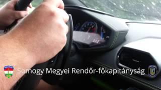 Lamborghini Huracan Fatal High Speed Crash over 310km/h on M7 Hungarian motorway