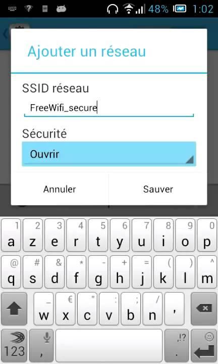 code de free wifi secure gratuit
