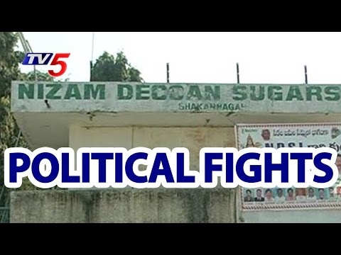 Congress and TRS Fights Over Nizam Deccan Sugar Factory Reopening | TV5 News