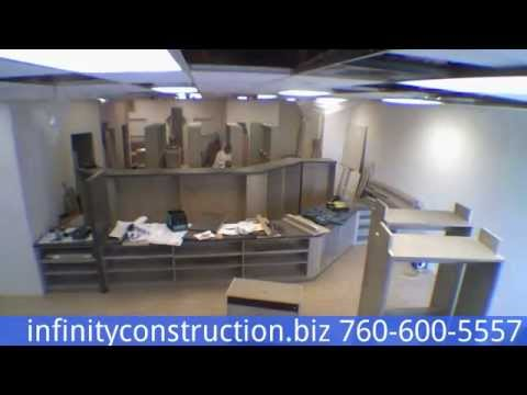 Tenant Improvement, Commercial Contractor. Time Laps Project Video / Pride Pharmacy
