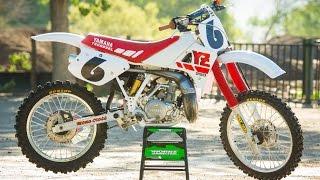 Coming all the way from Alaska, this 1988 Yamaha YZ250 got a major ...