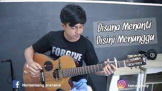 Disana Menanti Disini Menunggu (UKAY'S) Easy fingerstyle | Guitar cover