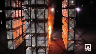 2013 NFPA Conference & Expo - Group A Plastics Test Burn