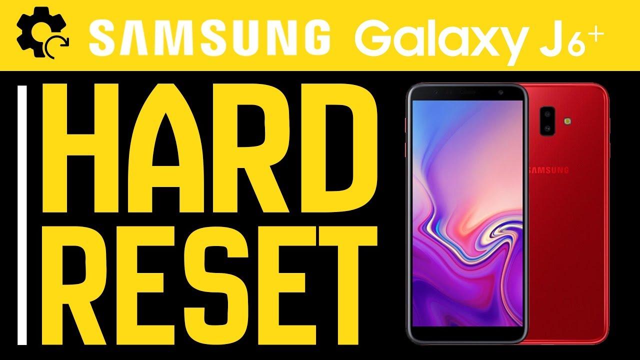 Hard Reset SAMSUNG GALAXY J6+   Factory Reset