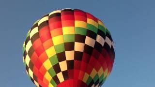 Hot air balloon ride north ga