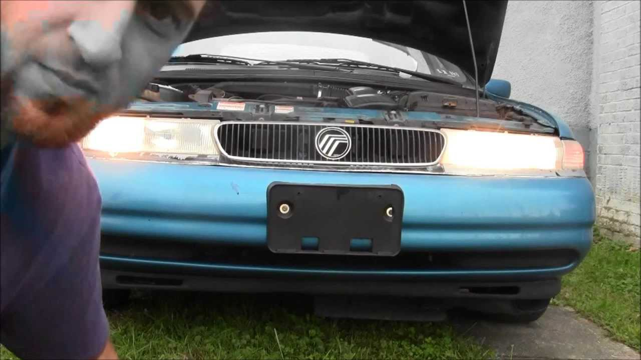How To Remove Install Headlight On 1997 Ford Contour