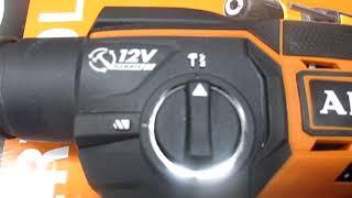 Обзор перфоратора (12 V CORDLESS HAMMER) AEG BBH 12 LI