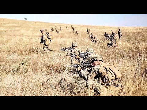 Platoon Attack – U.S. Marines Black Sea Rotational Force