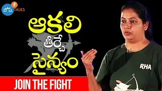 Freedom From Hunger with Robin Hood Army | Uma Chilakamarri | Josh Talks Telugu