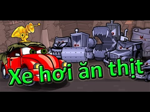 Game xe hơi ăn thịt người | Video hướng dẫn chơi game 24H
