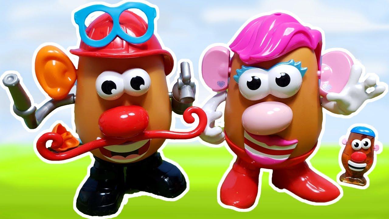 Señor y señora cara de papa 🙂 Juguetes divertidos para niños