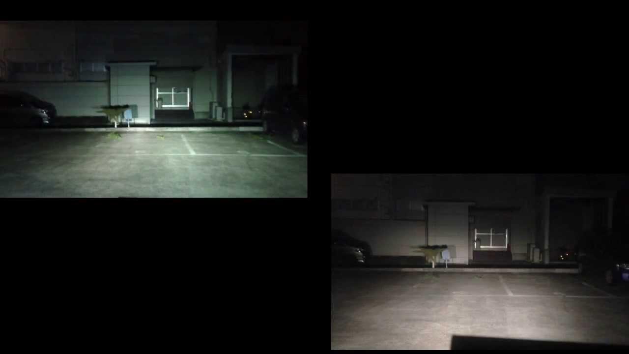 LEDヘッドライトとHIDヘッドライトの比較