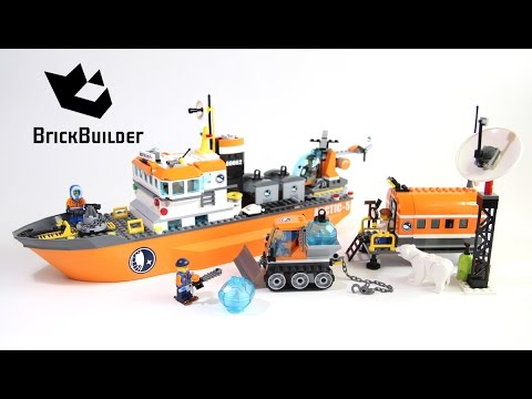 lego city 60062 arctic icebreaker lego speed build youtube