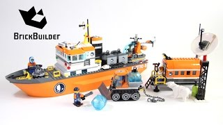 Lego City 60062 Arctic Icebreaker - Lego Speed Build