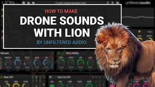 How to make drone sounds in Lion