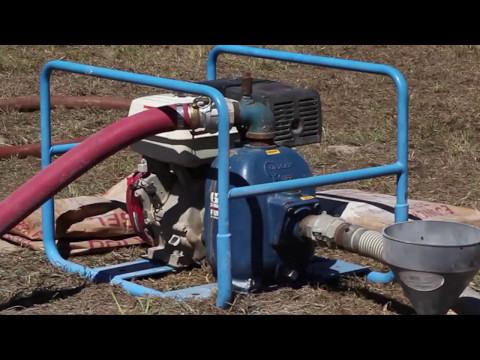 Lone Star Drills | Mud Pump Set Up