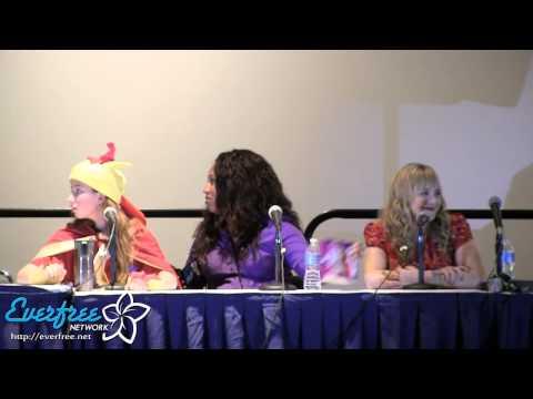 Voice Actor panel Day 1 - Equestria LA 2012