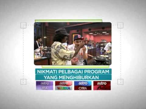 Promosi Terbaik nJOI Astro TV Satelit PERCUMA TV3 8TV NTV7 TV9