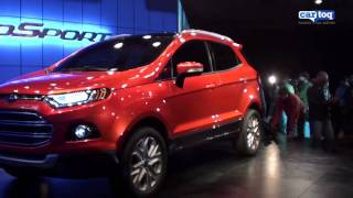 Ford Ecosport SUV video review at the Auto Expo 2012 from Cartoq.com
