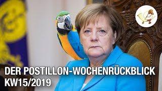 Der Postillon Wochenrückblick (8. April - 14. April 2019)