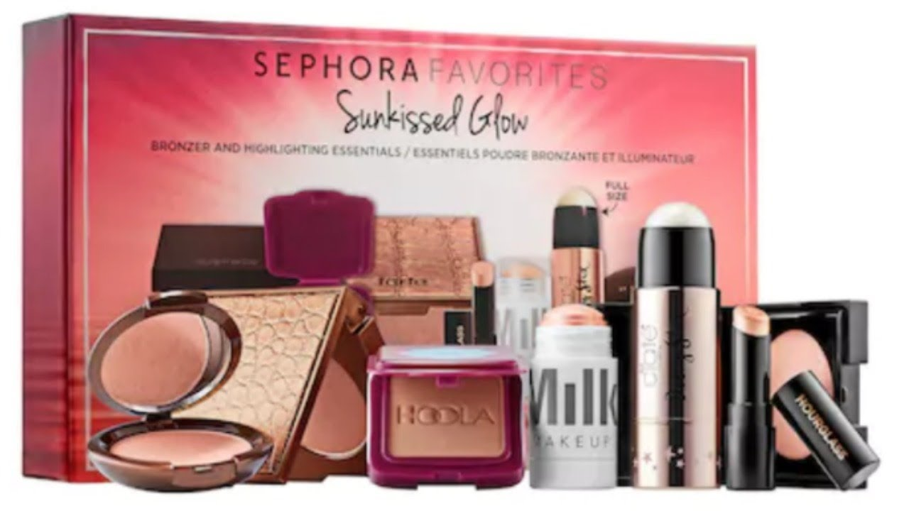 Sephora Favorites Sunkissed Glow Set Review Swatches