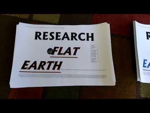 Flat earth outreach San Francisco