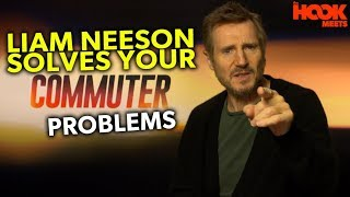 LIAM NEESON IS AN AGONY AUNT (In True Liam Neeson Form) | The Commuter INTERVIEW | The Hook