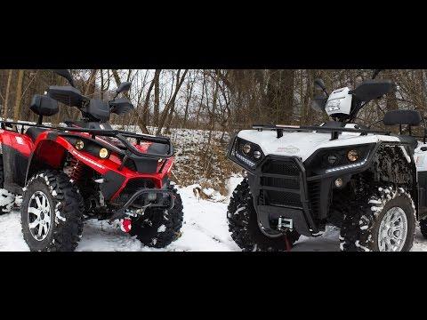 Linhai ATV 700 & Linhai ATV 550 [Обзор + Тест-драйв]