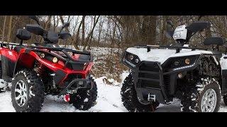 Linhai ATV 700 & Linhai ATV 550 [Обзор + Тест-драйв] Video