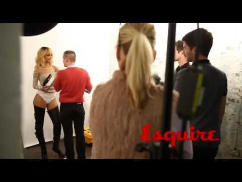 Rihanna photoshoot of Esquire UK