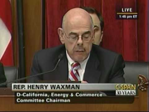 Gingrich Testimony On The Waxman-Markey Energy Tax Bill