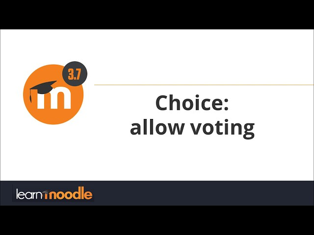 3.7 Choice