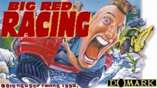 Big Red Racing gameplay (PC Game, 1995)