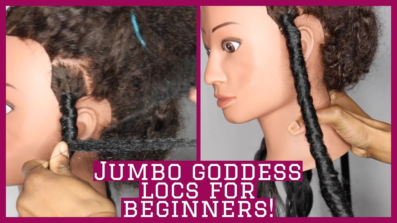 How To Do Long Jumbo Faux Goddess Locs For Beginners