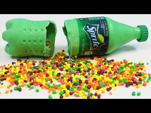 How To Make Pepsi Chocolate Bottle Filled With Skittles