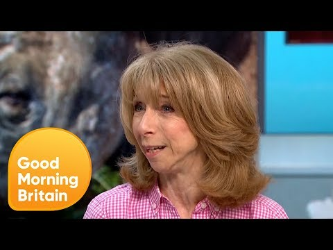 Corrie's Helen Worth's Campaign to Re-Home a Rare Black Rhino | Good Morning Britain