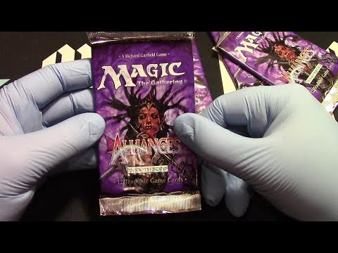Alliances 5 boosters Opened! Let the cards free!! MTG