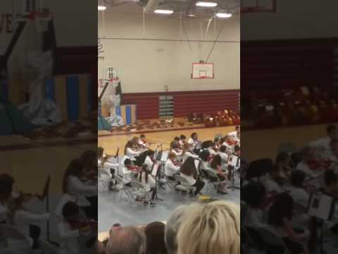 West Valley Middle School Orchestra 6th grade 2016