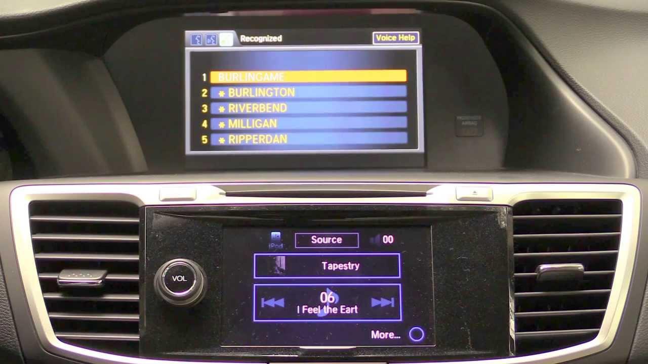 2014 Honda Accord HondaLink Infotainment Review