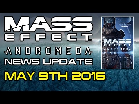 Mass Effect Andromeda News Update - New Screenshots & A Prequel Novel For Andromeda?