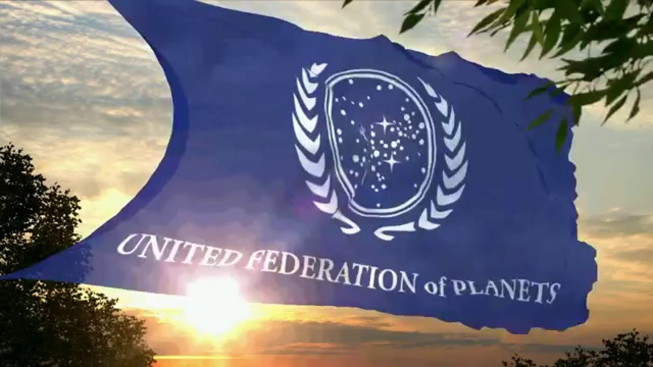 Flag and anthem of the United Federation of Planets - YouTube