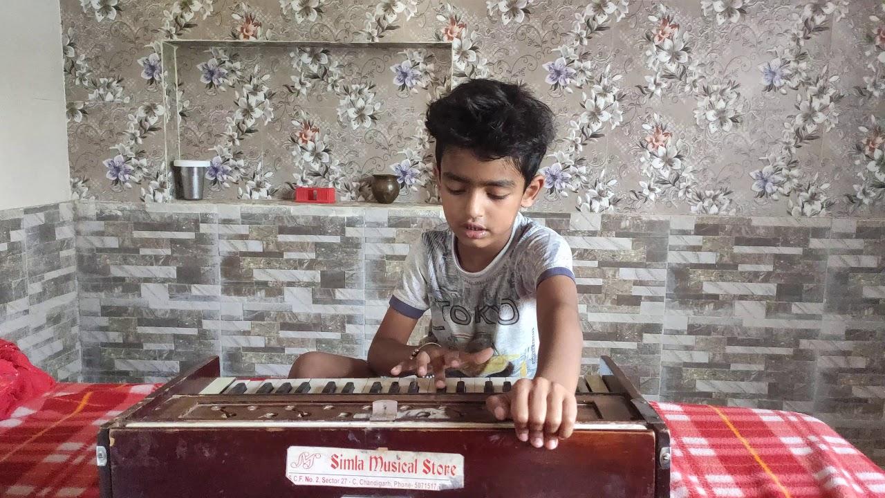 Gurfateh Singh Playing Harmonium After 6 Months