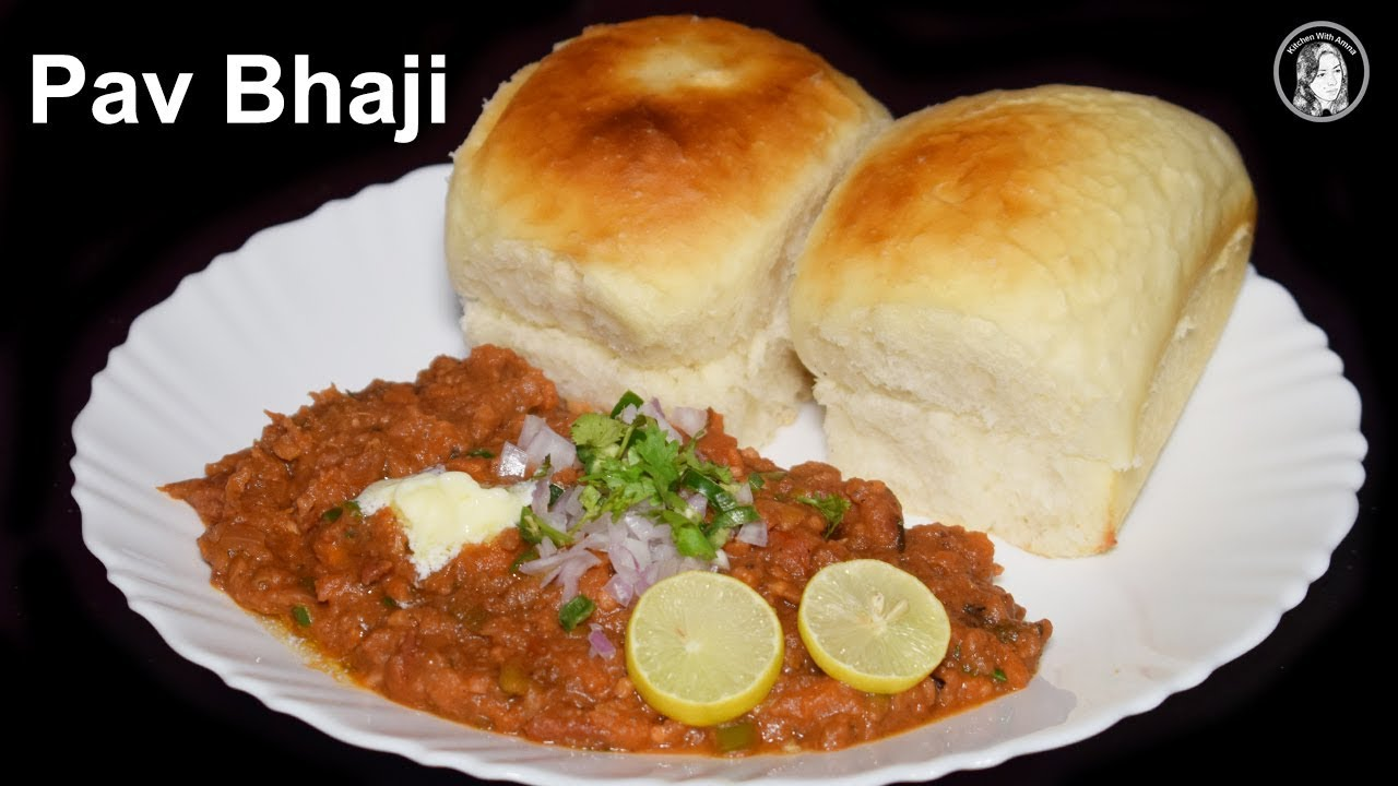 Pav bhaji recipe with homemade pav without oven all in one pav pav bhaji recipe with homemade pav without oven all in one pav bhaji recipe indian street food forumfinder Image collections