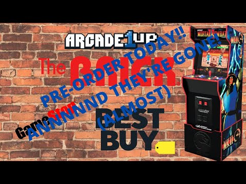 Arcade1up: Midway Legacy Edition Pre orders Have Begun from PsykoGamer