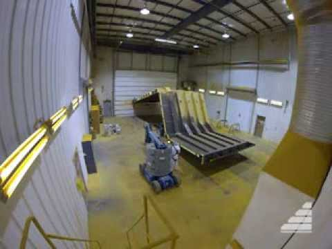Time-Lapse Of Truck Box Fabrication By The SMS Crew